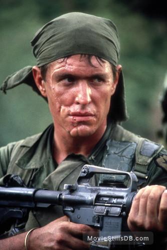 Platoon - Publicity still of Tom Berenger