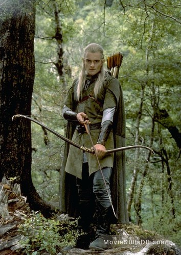 The Lord of the Rings: The Fellowship of the Ring - Publicity still of Orlando Bloom