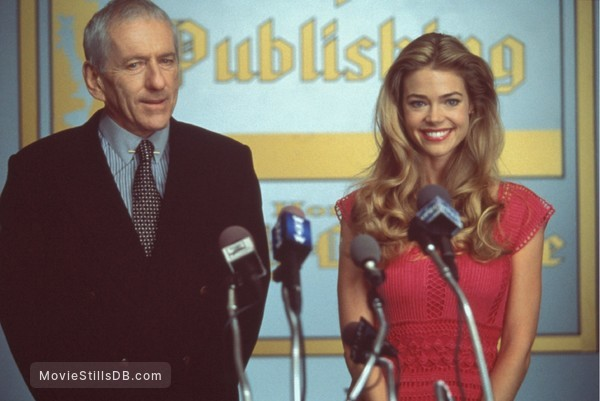 Good Advice - Publicity still of Denise Richards & Barry Newman
