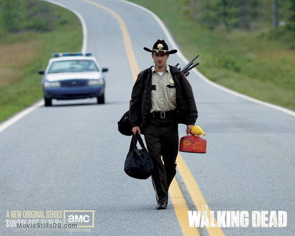 The Walking Dead - Wallpaper with Andrew Lincoln
