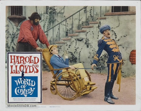 World of Comedy - Lobby card