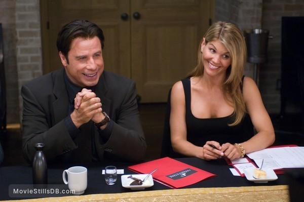 Old Dogs Publicity Still Of John Travolta Lori Loughlin