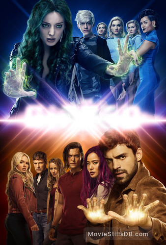 The Gifted - Promotional art with Grace Byers, Emma Dumont, Skyler Samuels, Coby Bell, Sean Teale, Stephen Moyer, Jamie Chung, Amy Acker, Natalie Alyn Lind, Percy Hynes White & Blair Redford