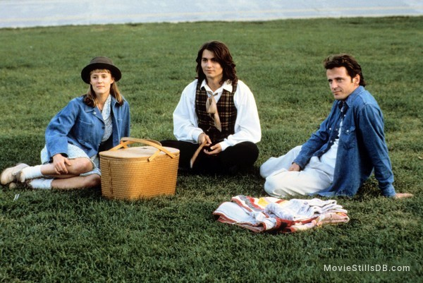Benny And Joon - Publicity still of Johnny Depp, Mary Stuart Masterson & Aidan Quinn