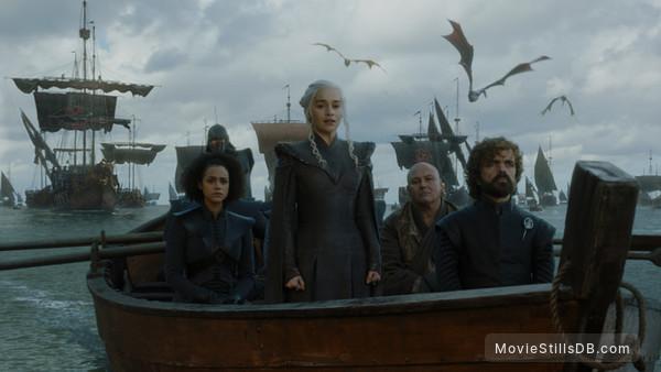Game of Thrones -  Peter Dinklage, Emilia Clarke, Conleth Hill & Nathalie Emmanuel