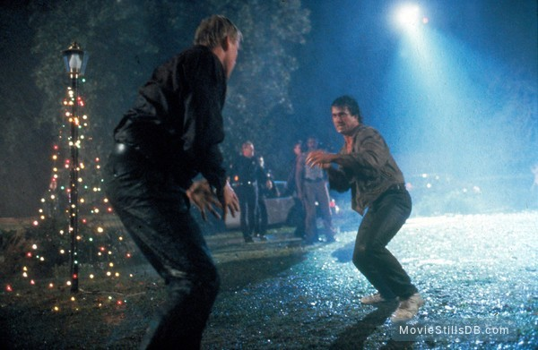 Lethal Weapon - Publicity still of Mel Gibson & Gary Busey