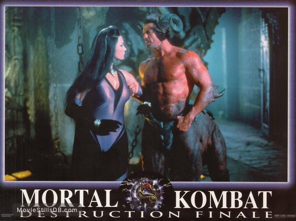 Mortal Kombat Annihilation Lobby Card With Deron Mcbee
