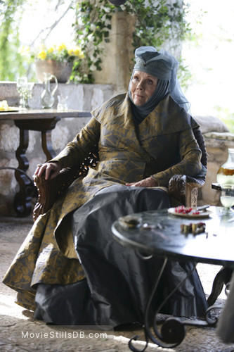 Game of Thrones - Publicity still of Diana Rigg