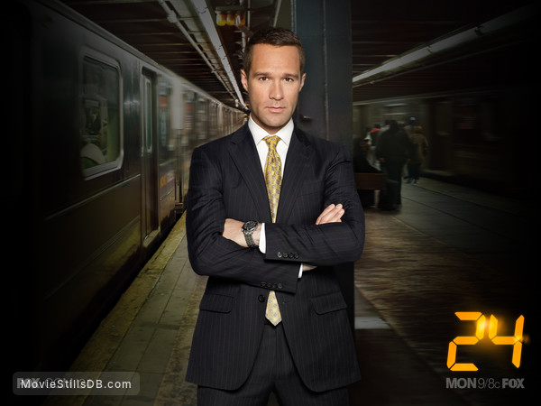 24 - Season 8 wallpaper with Chris Diamantopoulos