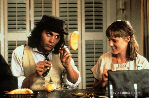 Benny And Joon - Publicity still of Johnny Depp & Mary Stuart Masterson