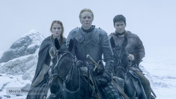 Game of Thrones -  Sophie Turner, Gwendoline Christie & Daniel Portman
