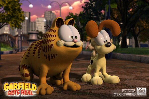 Garfield Gets Real Wallpaper
