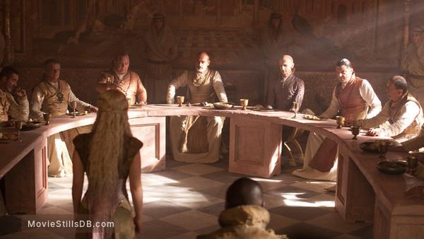 Game of Thrones - Publicity still of Ian Hanmore & Nicholas Blane