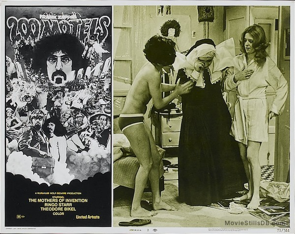200 Motels - Lobby card with Keith Moon